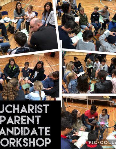 Eucharist Parent Candidate Workshop
